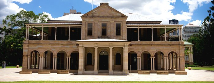 Old Government House. Image by Queensland University of Technology.
