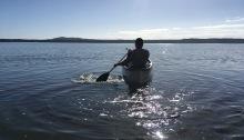 noosa river canoe