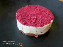 White Christmas dessert by Stokehouse chef