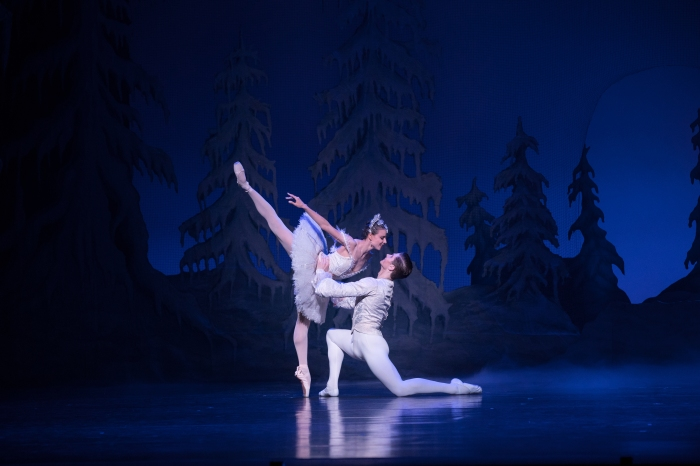 QB The Nutcracker 2017 - Principal Artist Yanela Piñera and Soloist Alexander Idaszak - Photo David Kelly.jpg